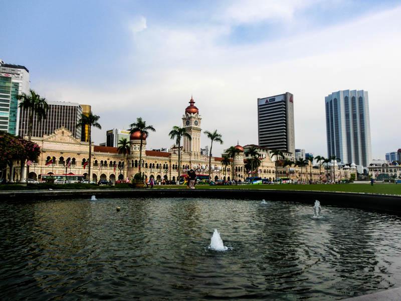 Fountain Kuala Lumpur Malaysia photo ooaworld Rolling Coconut