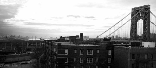 nyc-George-Washington Bridge from 181st USA road trip photo ooaworld