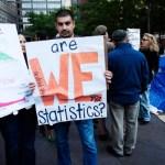 Photos Occupy New York, Are We Statistics