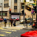 Downtown Hong-Kong Reds and Yellows