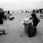 Santa Cruz, beach cleanup