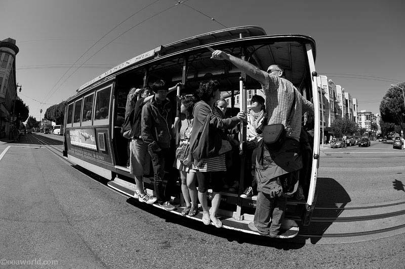 San Francisco California photos streetcar