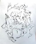 treasure map art drawing ooaworld ooaddle