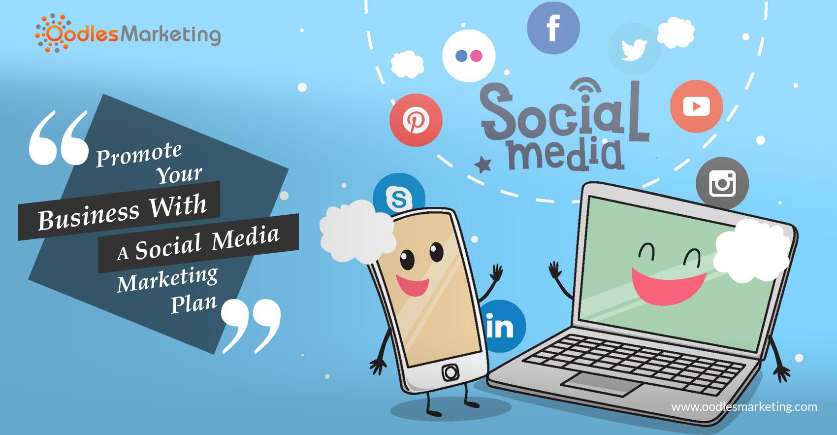 An influential Social media marketing plan
