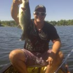 Chris Paul caught this 4-pound, 9-ounce largemouth on Lower Beverly Lake.