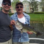 Nicholas Di Marco and his father Rick were on a fishing excursion in Florida when Rick caught this 7-pound, 23-inch bass using a Zoom minnow.