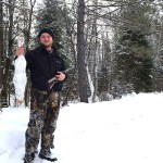 Albert Paschkowiak of Kingston and his friends started a yearly winter trip to the Deep River area to fish for splake. This year he was also able to harvest his first snowshoe hare.