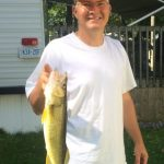 Tim Holland of Oshawa with a nice Pickerel
