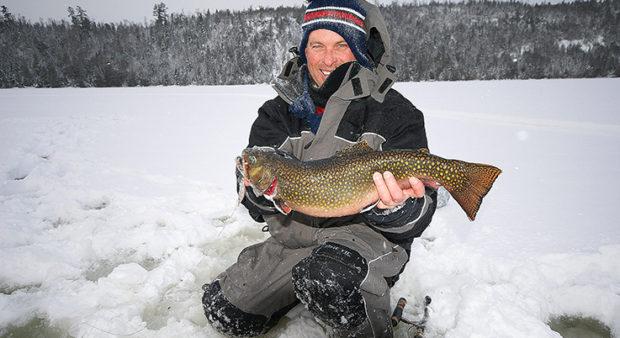 brookie bag - Winter brook trout