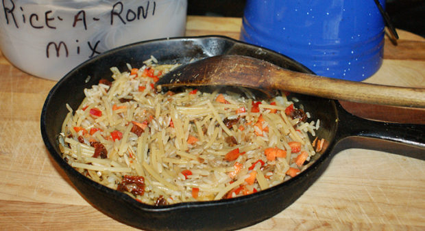 hunt camp - homemade rice-a-roni