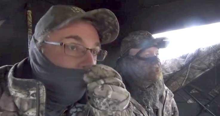 strategies - two men in a blind