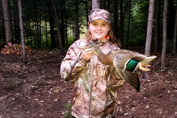Waterfowler Heritage Day was a huge success for Makayla Zwicker age 12 of Burketon