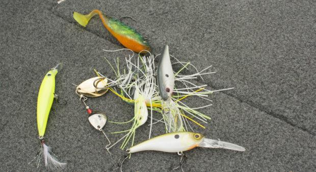 Bad Angling Habit - Lying around lures