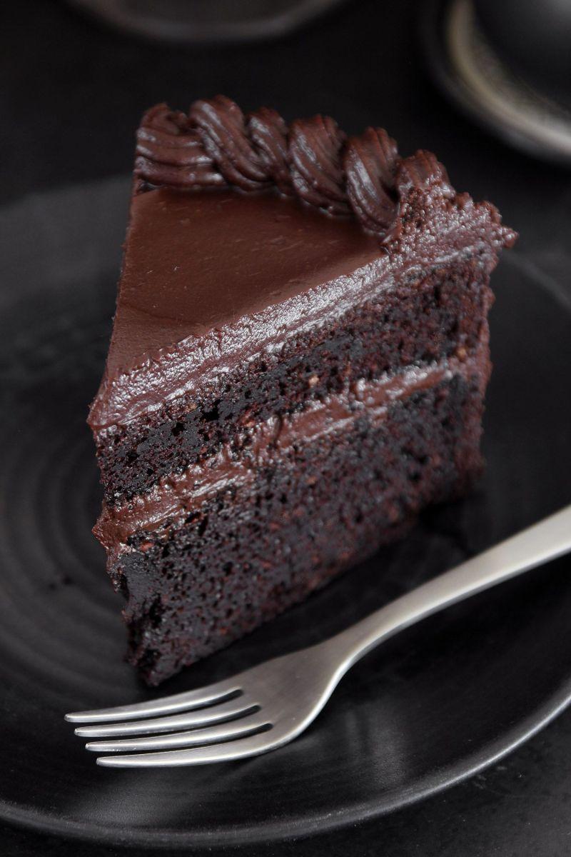 עוגת שוקולד אמריקאית
