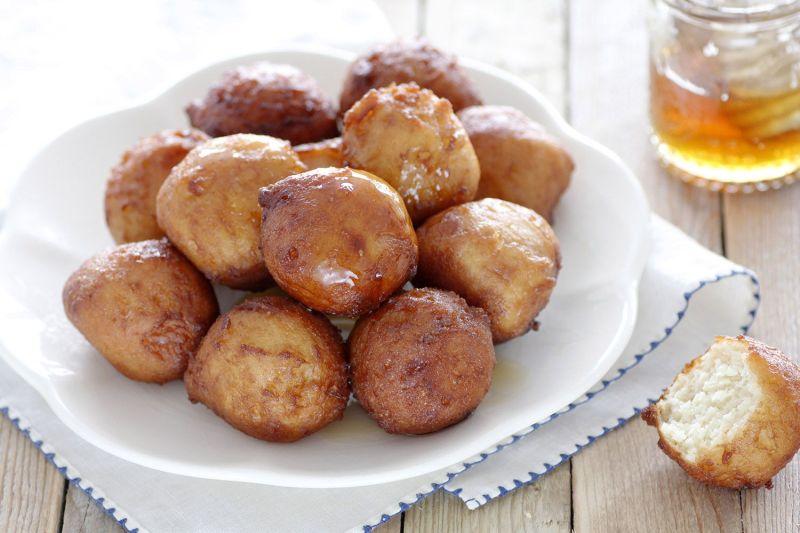 סופגניות יווניות - לוקומדס