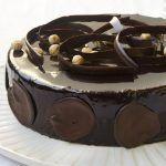 עוגת מוס שוקולד, מסקרפונה וקפה