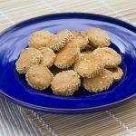 עוגיות גבינה, פפריקה וצ'ילי פיקנטיות