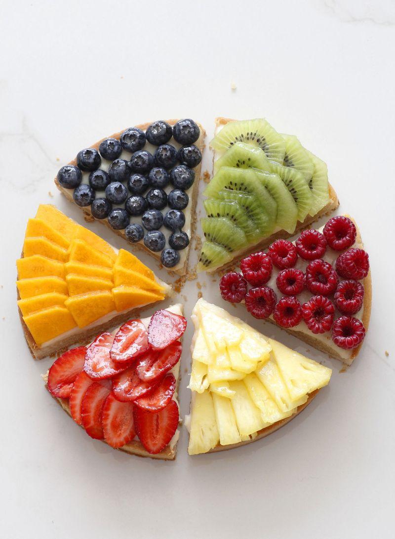Modern Fruit Tart