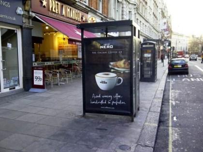 Out Of Home International - Caffe Nero - Adshel