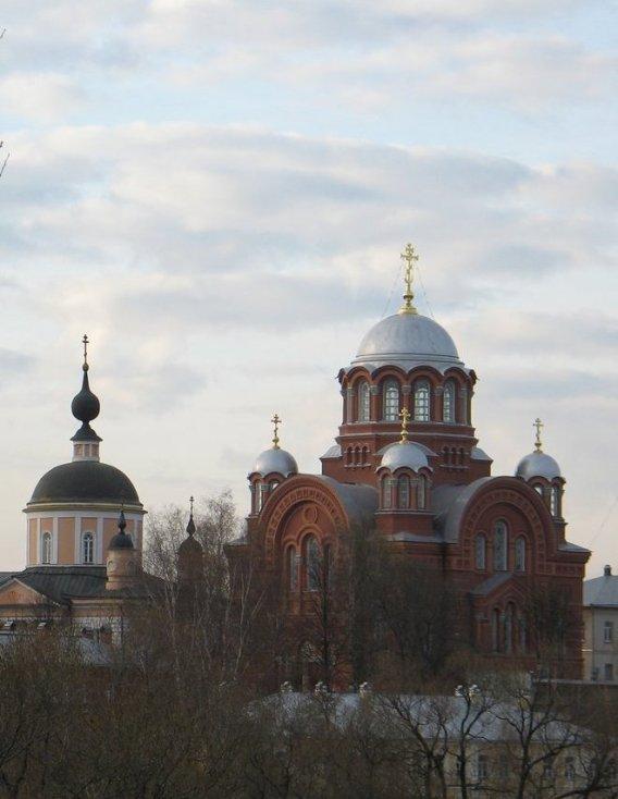 Покровский монастырь в Хотькове