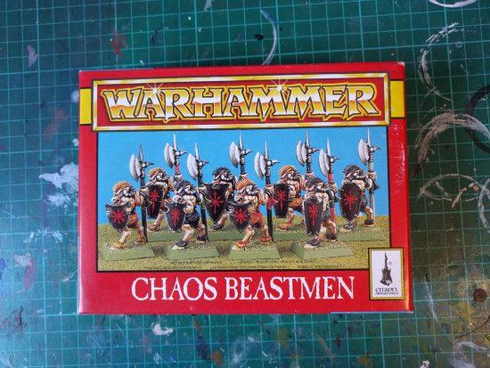 Chaos Beastmen 2nd edition