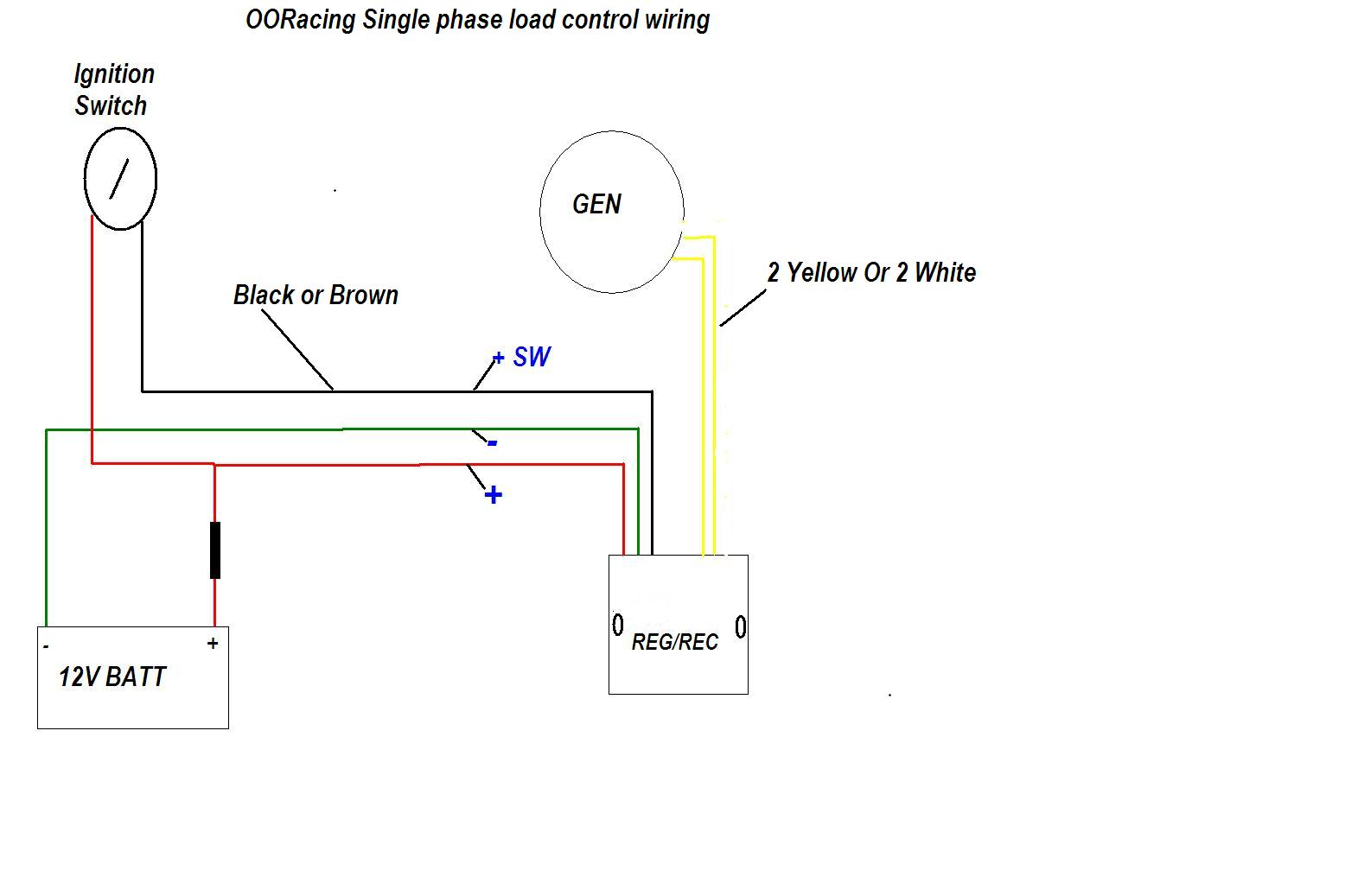Single_phase_50W_Gen_wiring pit bike wiring diagram diagram wiring diagrams for diy car repairs Pit Bike Racing Rules at gsmportal.co
