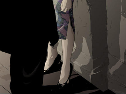 Matthew woodson, ghostco, illustration. In the mood for love
