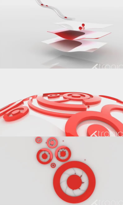 Tronic's Target advertising, minimal animation