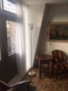 zuidwestzijde woonkamer