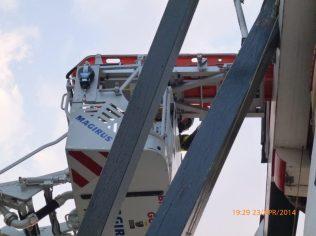 ladderwagen met brancard