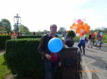 De molenaar laat ook een ballon op