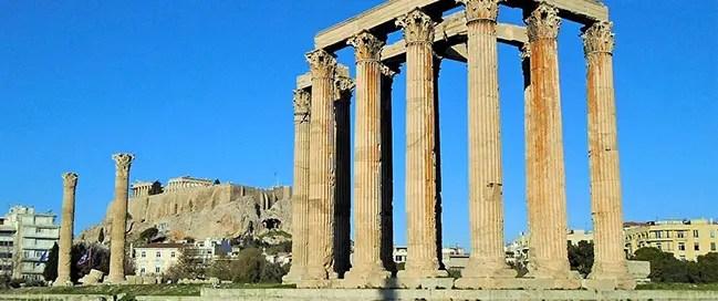 السياحة في اثينا - معبد زيوس الأولمبي