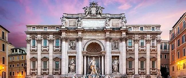 السياحة في إيطاليا - نافورة تريفي