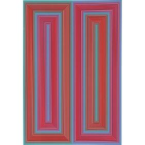 Untitled (The Peace Portfolio) - Richard Anuszkiewicz - 1972