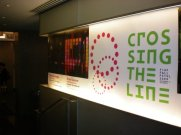 crossing the line entrance