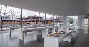 Frank Lloyd Wright Martin house's Greatbatch Pavilion, Toshiko Mori