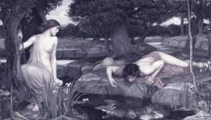 Echo and Narcissus - John William - 1903