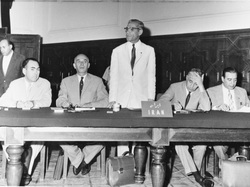 The delegation of Iran to the historic 'Baghdad Conference' held between 10-14 September 1960