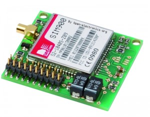 GSM localizer - The GSM module