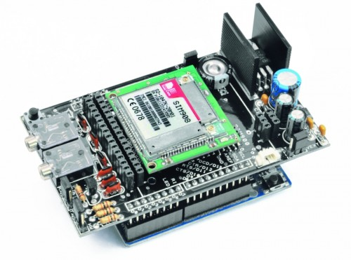 Arduino gsm gprs and gps shield open electronics