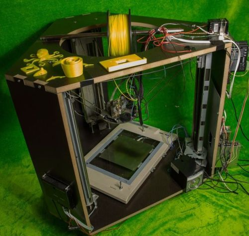 recycled parts Delta printer