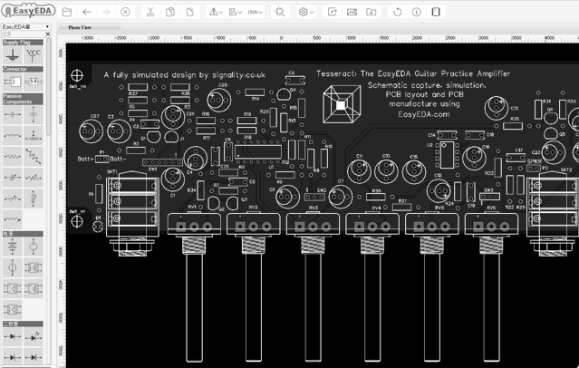 Easyeda Online Pcb Design Circuit Simulator For All Platforms Open Electronics Open Electronics