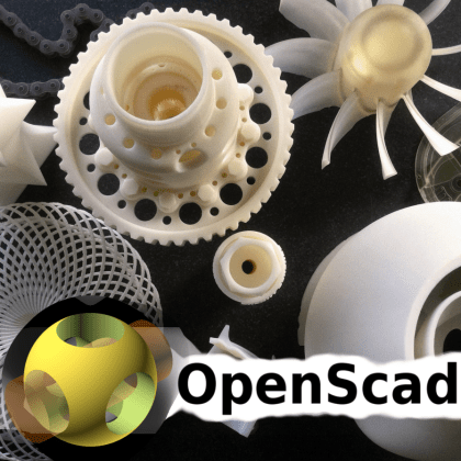 Discovering OpenSCAD – part 2: advanced functions | Open