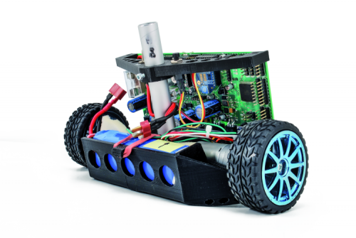 Open Wheels 2  An All-in-one Board To Control Any Of Your Robotic Projects