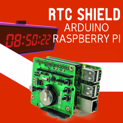 A RTC SHIELD for Arduino and Raspberry Pi, second part | Open