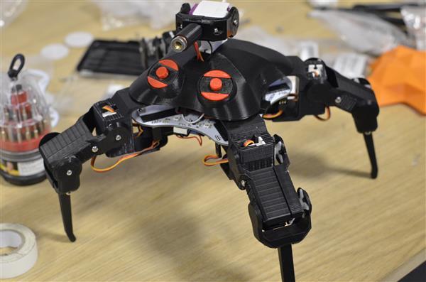 QuadBot on Kickstarter combines open source robotics and