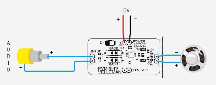 2,8W Class D Amplifier | Open Electronics