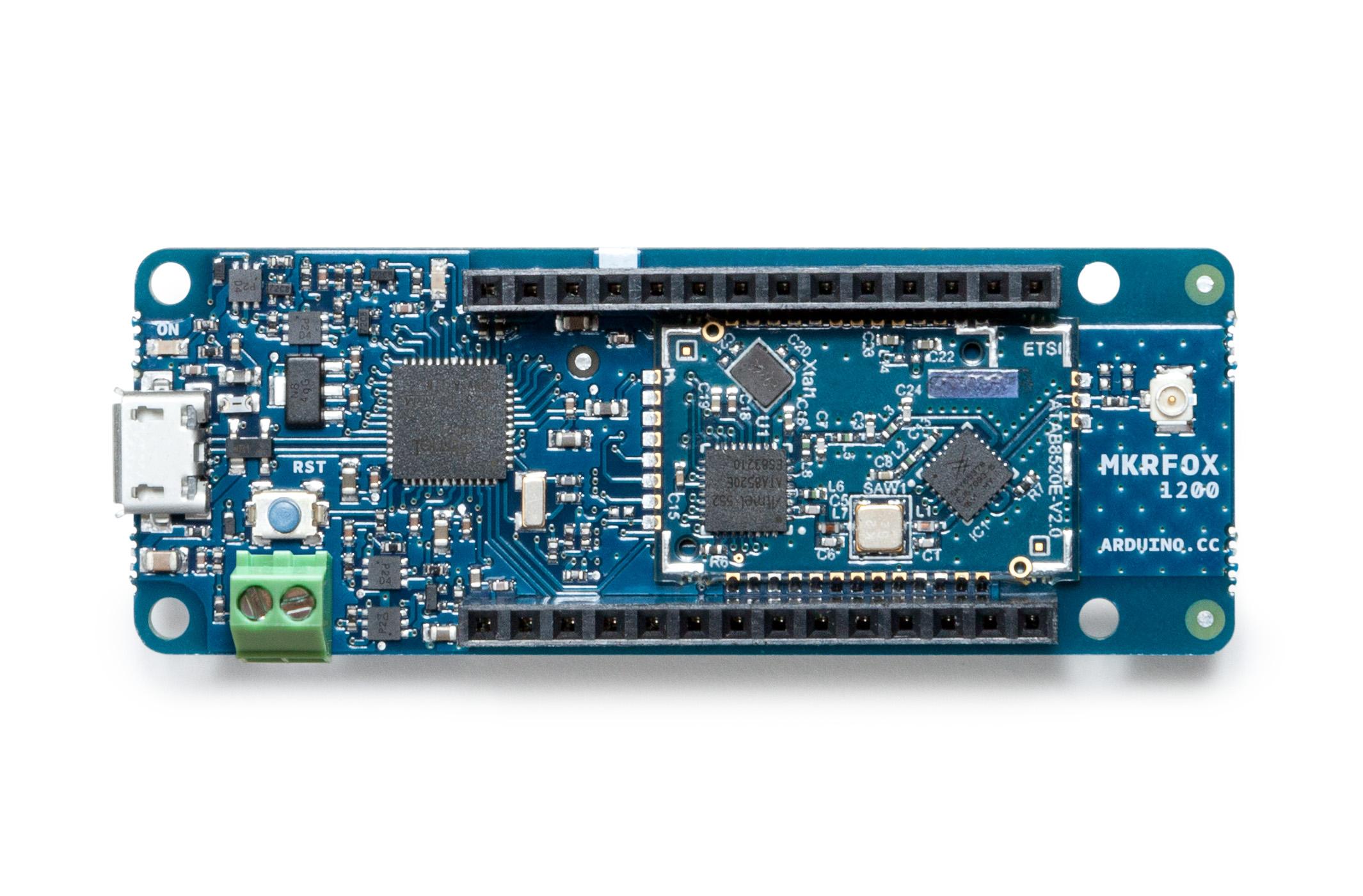 New arduino iot development board unveiled mkrfox
