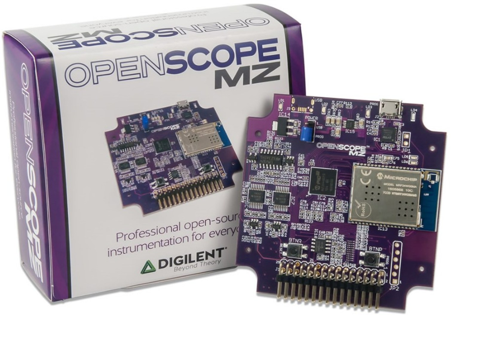 Digilent OpenScope: Open-Source PICMZ All-in-One