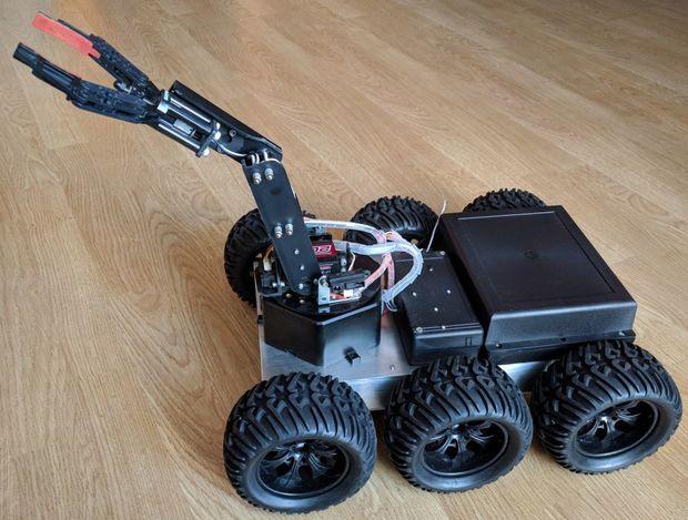 Diy 6wd All Terrain Robot Open Electronics